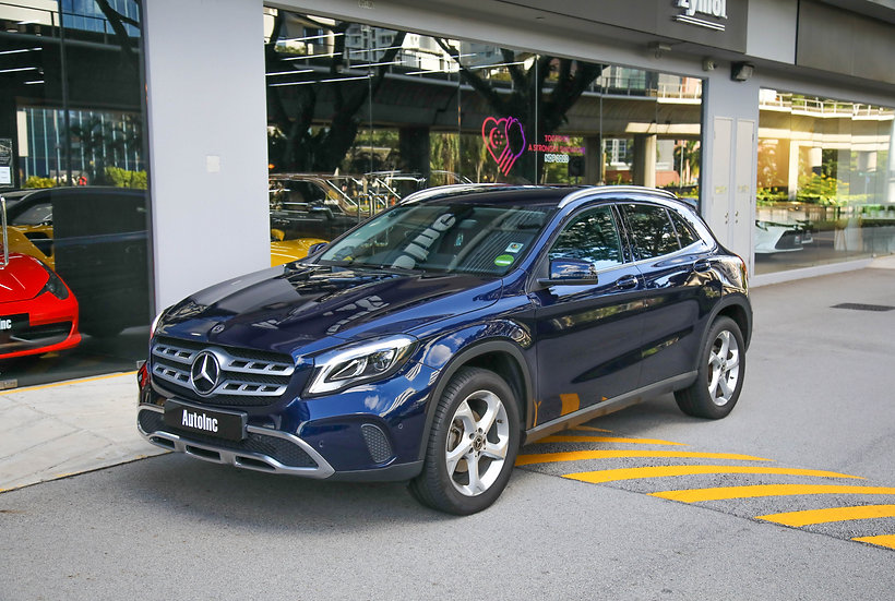 2018 Aug Mercedes Benz GLA 180