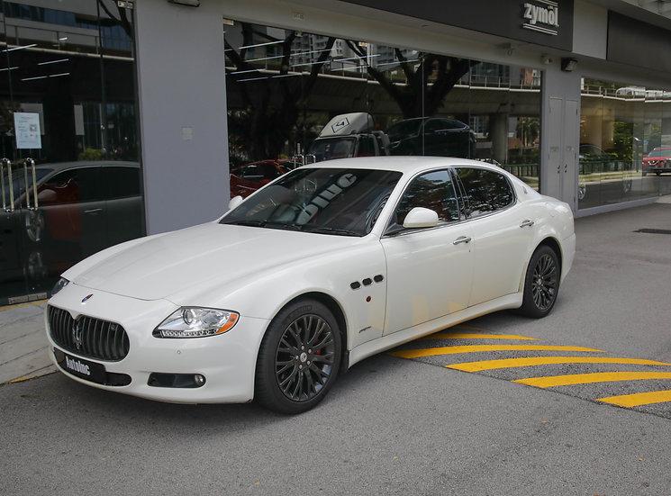 2012 Oct Maserati Quattroporte