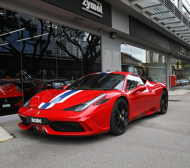 2014 Sep Ferrari 458 Speciale