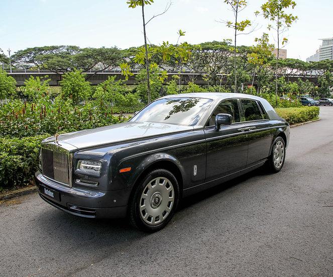 2013 Feb Rolls-Royce Phantom Series II (New 10 yr COE)