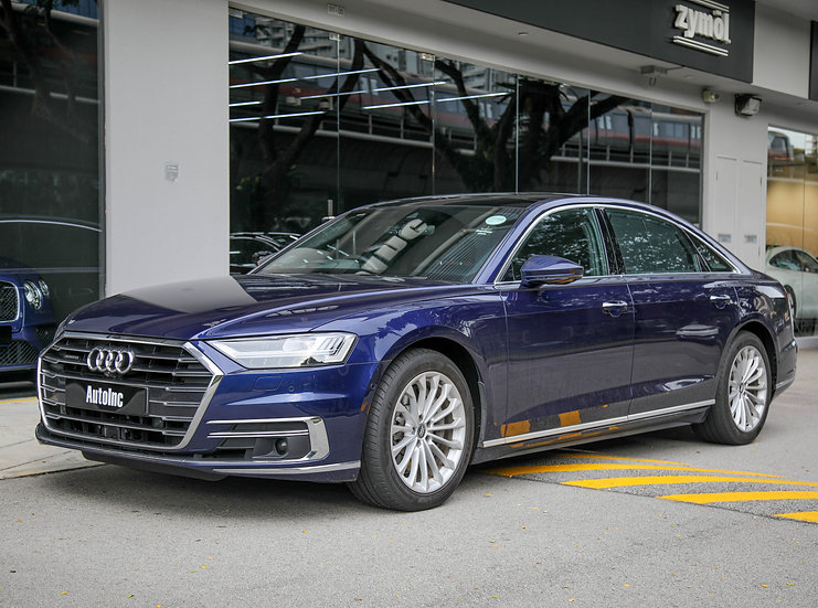 2019 Aug Audi A8L Mild Hybrid 3.0A