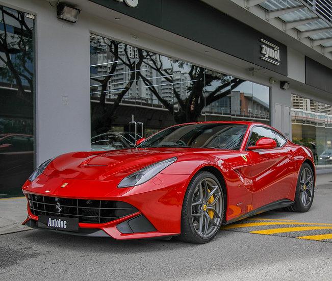 2016 Sep Ferrari F12 Berlinetta 6.3A