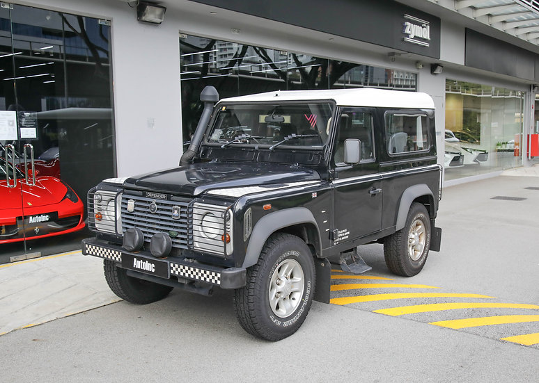 2004 Dec Land Rover Defender