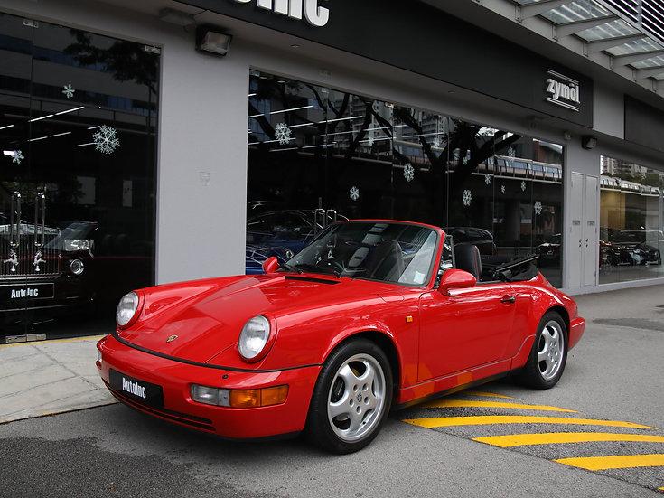 1992 Jan Porsche 911 Carrera 2 Cabriolet