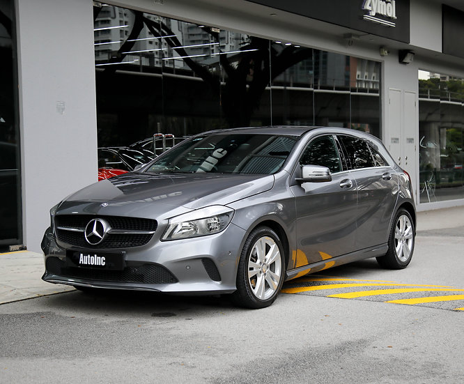 2016 Apr Mercedes-Benz A-Class A180