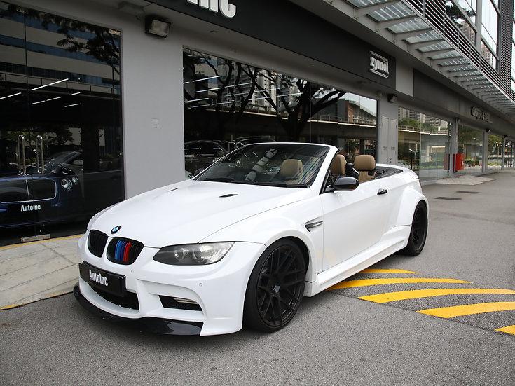 2010 Jan BMW M3 Convertible (COE till 11/2028)
