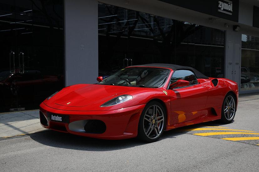 2010 Jun Ferrari F430 Spider (New 10-year COE)