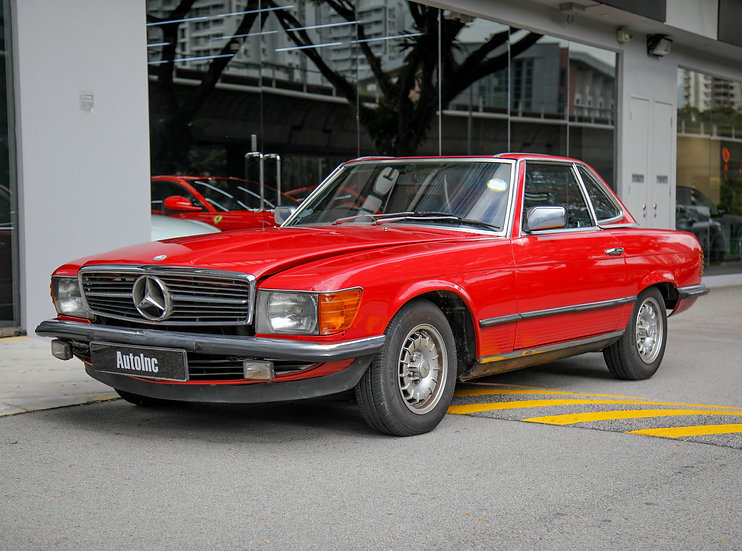 1983 Feb Mercedes-Benz 280SL