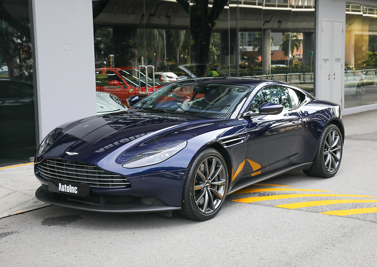 2018 Jun Aston Martin DB11 V8 4.0A