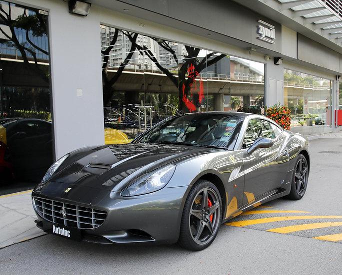 2012 May Ferrari California 4.3A