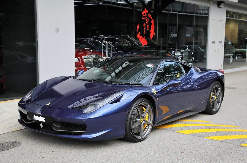 2012 Aug Ferrari 458 Italia