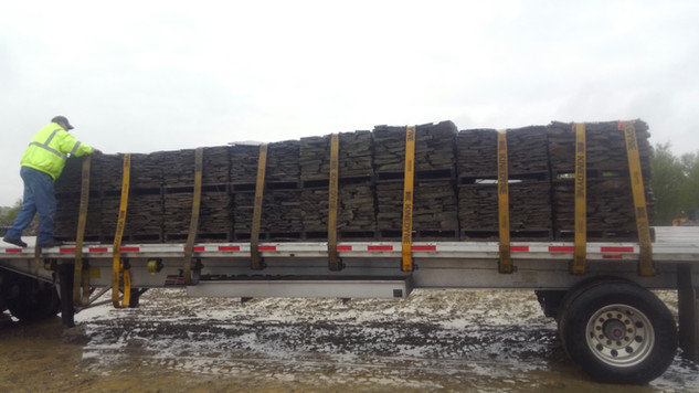 Load of Colonial Half Pallets