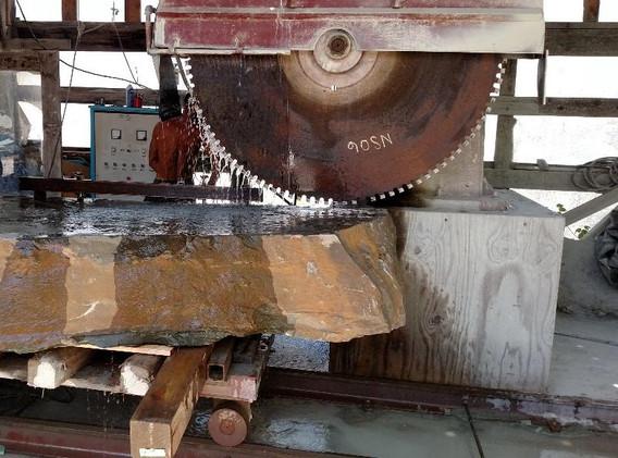 Gantry Saw Process