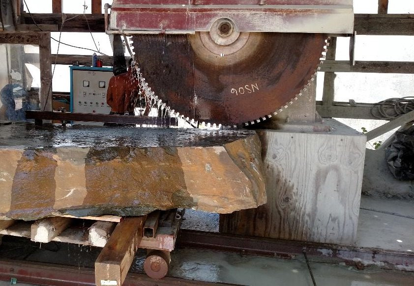 Gantry Saw Process