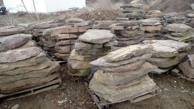 Fieldstone Steps/Slabs