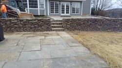 Patio/Retaining Wall