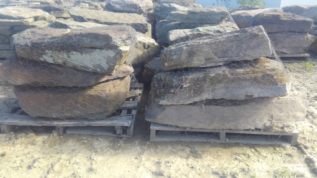 Flat Boulders