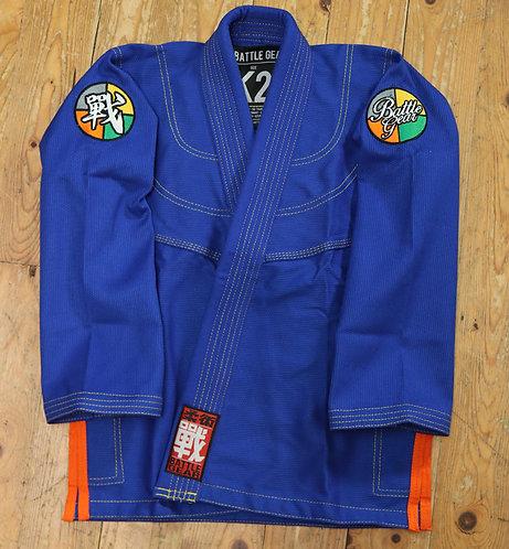 PROGRESSIVE Blue Kids Kimono / Gi by Battle Gear