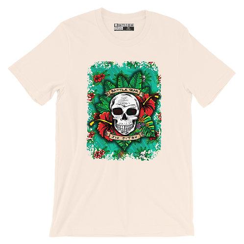 Skulls & Flowers Unisex T shirt