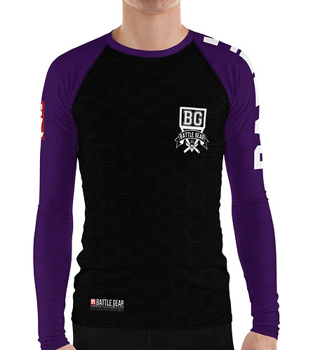 V3 Purple Long Sleeve NO GI / MMA Rashguard