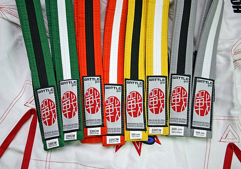 Youth BJJ Brazilian Jiu Jitsu 2 Colour Belt