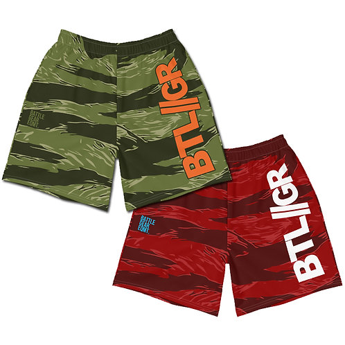 Tigerstripe Elite Mid Thigh Grappling Shorts - 2 Colours