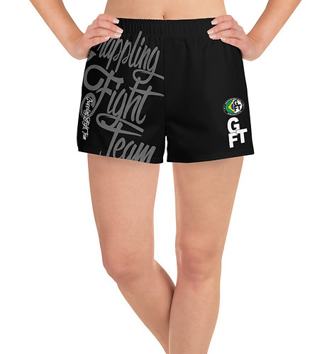 GFTEAM Black Female Athletic Shorts