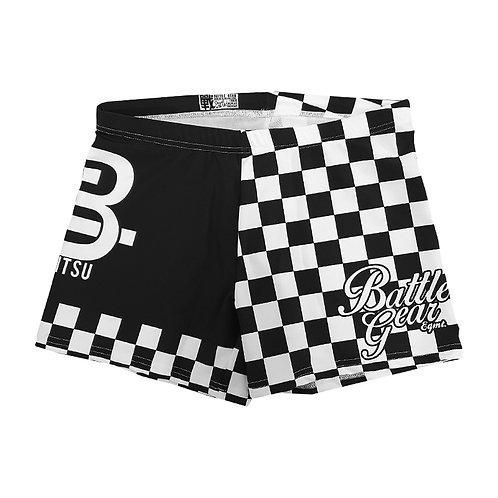 Finisher Vale Tudo Shorts Black / White
