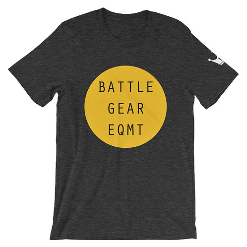 Full Circle in Yellow Unisex T shirt