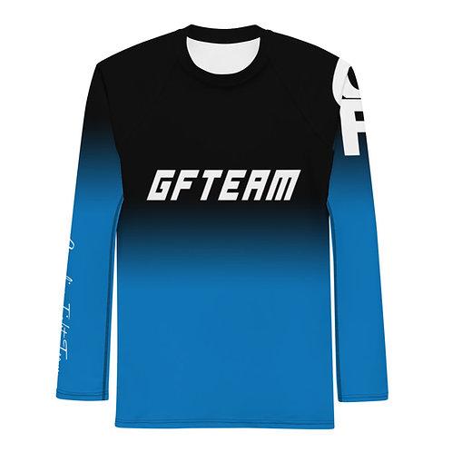 Blue GFTEAM Long Sleeve NO GI MMA Rashguard