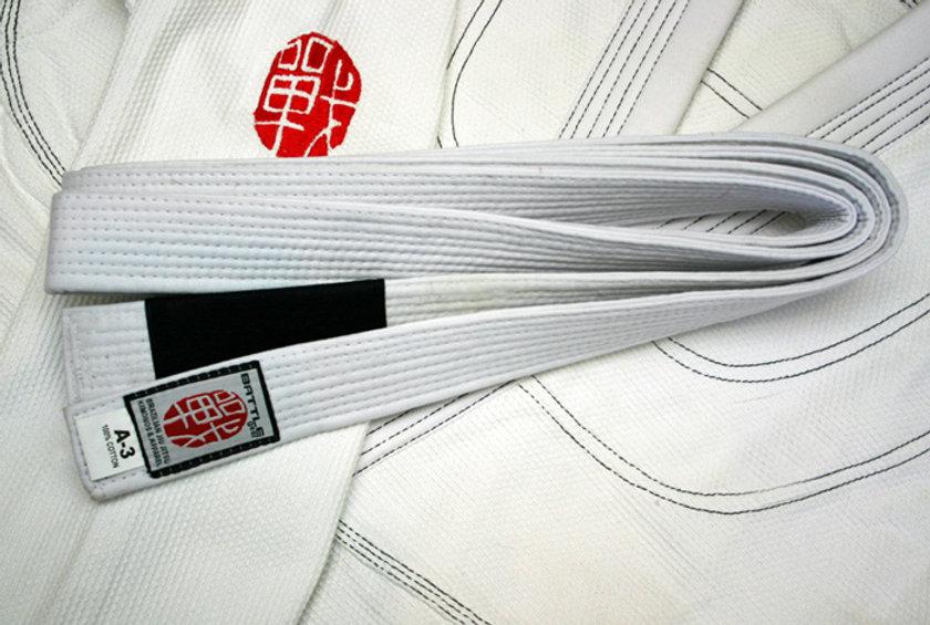 BJJ Brazilian Jiu Jitsu White Belt