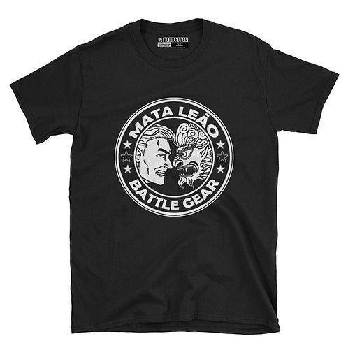 MATA LEÃO Unisex Black T shirt