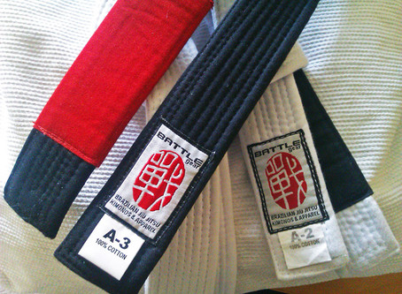 What does the Tab mean on my BJJ belt?
