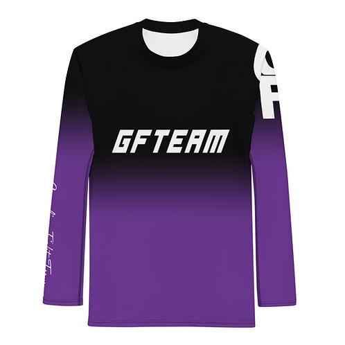 Purple GFTEAM Long Sleeve NO GI MMA Rashguard
