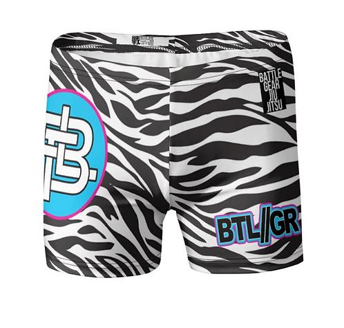 Zebra Vale Tudo Shorts