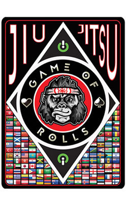 Game Of Rolls: 1st Jiu-Jitsu Themed Card Game