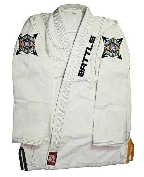 ADVANTAGE BJJ Brazilian Jiu Jitsu White Kimono / Gi