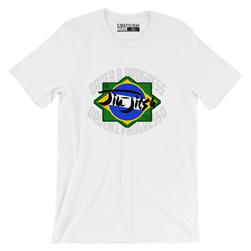 Order & Progress Brazil Unisex T shirt