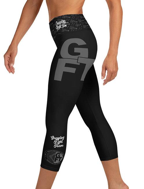 GFTEAM Female Capri Length NO GI MMA Spats Leggings