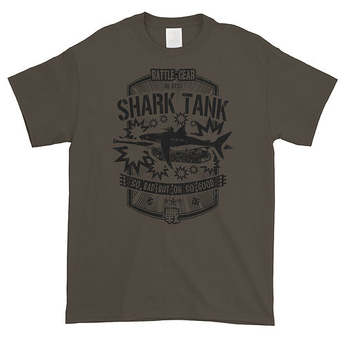 Shark Tank Unisex T shirt in Army Green