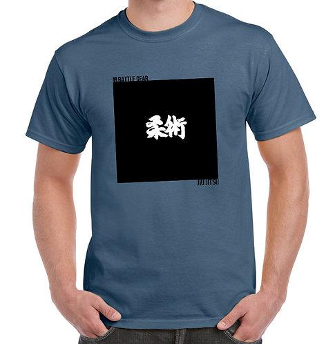 4 Corners Blue T shirt by Battle Gear