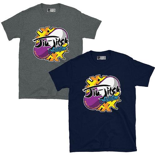 Jiu Jitsu Addiction Unisex T shirt in 2 colours