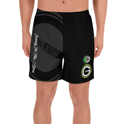GBJJ / GFTEAM Black mid thigh Shorts