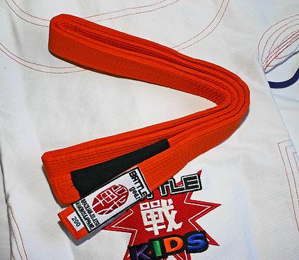 Youth BJJ Brazilian Jiu Jitsu Orange Belt