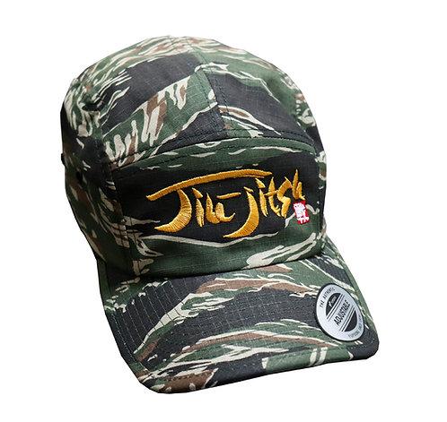 Jiu jitsu Tiger Stripe Camouflage Cap