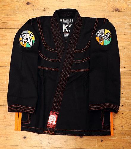 PROGRESSIVE Black Kids Kimono / Gi by Battle Gear