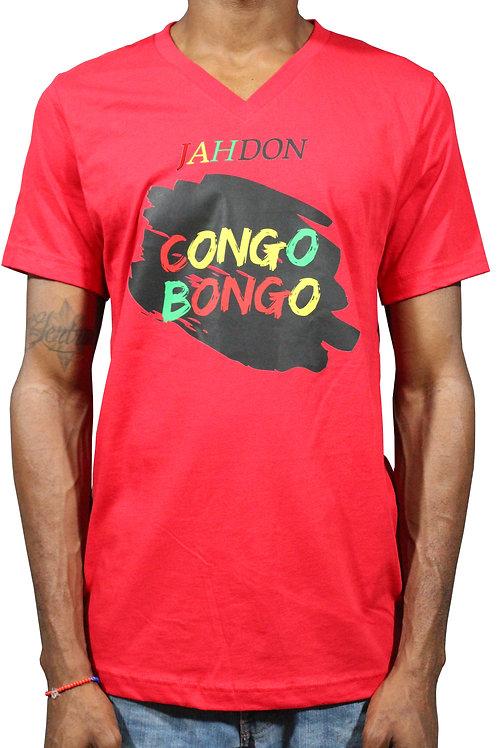 V-Neck Men's Congo Bongo T-Shirt