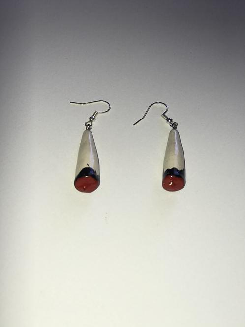 """Spliff"" Handmade Earrings"