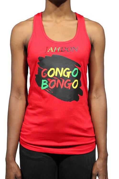 Sleeveless Women's Congo Bongo T- Shirt