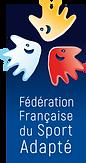 Logo FFSA Fédération Française du Sport Adapté pour personnes en situation de handicap mental et psychique